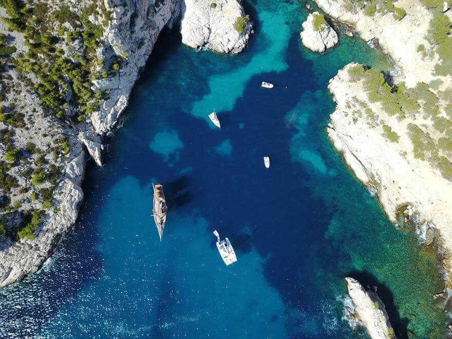 Sailing Tours In The Calanques Goelette Alliance