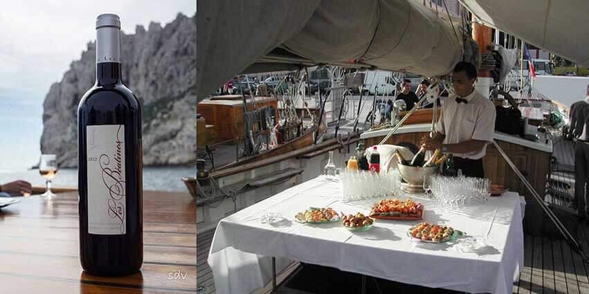 Cocktail sur le voilier