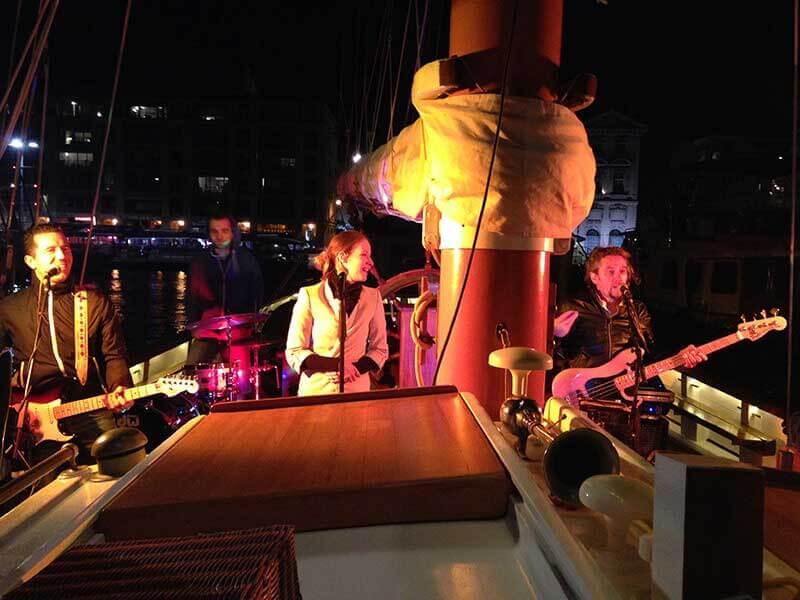 Soirée à bord du voilier Alliance