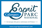 Logo Esprit Parc National Calanques